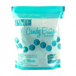 PME Candy Buttons - Γαλάζιο 340gr.