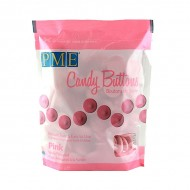 PME Candy Buttons -  Ροζ 340gr.