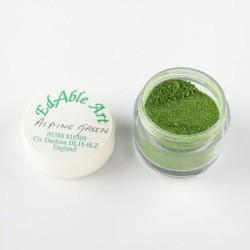 Χρώμα σε σκόνη - Alpine Green -100% Edible
