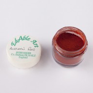 Χρώμα σε σκόνη - Autumn Red -100% Edible