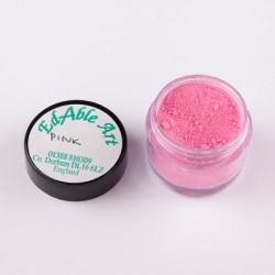 Χρώμα σε σκόνη -Pink-100% Edible