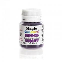 Χρώματα Σοκολάτας σε Σκόνη της Magic Colours - Βιολετί - Violet 5gr.