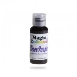 Βρώσιμα Χρώματα Σοκολάτας της Magic Colours - Μωβ - Choco Purple 32ml.