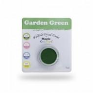 Χρώμα σε σκόνη της Magic Colours - Πράσινο του Κήπου - Garden Green 7ml.