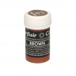 Καφέ - Παστέλ Χρώμα 25gr. - Sugarflair