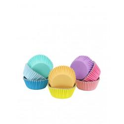 Καραμελόχαρτα Αλουμινίου Διάφορα Χρώματα Παστέλ - 100 Τεμ PME