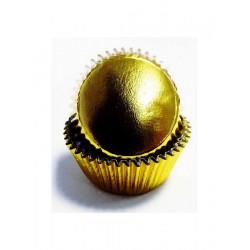 Χρυσά Μίνι μεταλλικά καραμελόχαρτα της PME 45τεμ