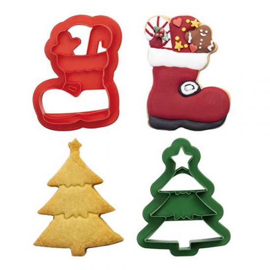 Χριστουγεννιάτικο κουπάτ δέντρο και μπότες - Decora