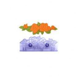 Μπορντούρα Νυφικό Τριαντάφυλλο13,5 x 5εκ της PME