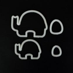 Μαμά και Μωρό Ελέφαντας Tappit της FMM