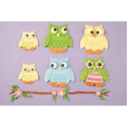 Κουπάτ Κουκουβάγιας Σετ (Owl Set)