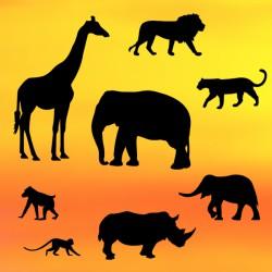Κουπάτ Σαφάρι Σετ (Safari Silhouette Set)