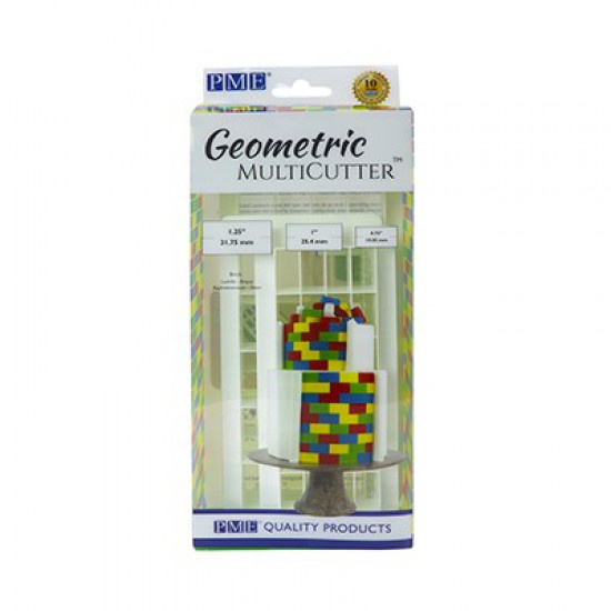 Τούβλα -Γεωμετρικό Κουπάτ Σετ 3 τεμ. PME