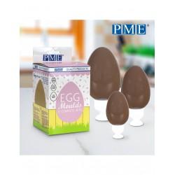 Σετ 3 Καλούπια για Σοκολατένια Αβγά