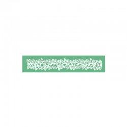 Καλούπι Δαντέλας Φύλλα της Pavoni 8x40cm