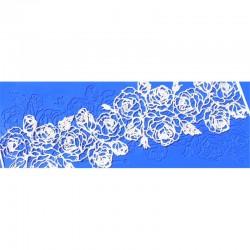 Kαλούπι Δαντέλας Σάντα Ρόζα της Crystal Candy 35x12cm