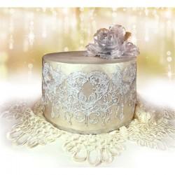Kαλούπι Δαντέλας Έρωτας της Crystal Candy 35x12cm