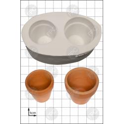 3D Γλάστρα - Καλούπι για Ζαχαρόπαστα - Σοκολάτα της FPC