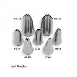 Μύτη Κορνέ για μεγάλο φύλλο 5mm της  PME Jem No.113