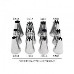 Μύτη Κορνέ Μεσαίο Στρογγυλό Σαβόϊ 13mm της PME Jem No.2R
