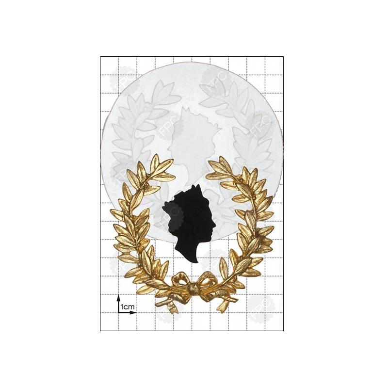 Καλούπι Στεφάνι και Προτομή Βασίλισσας - FPC 9e872b59ca8