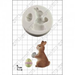 Καλούπι - Λαγουδάκι με Αυγό - της FPC