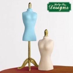 Καλούπι Σιλικόνης της Katy Sue - Μανεκέν 6,5 ύψος x 2,5εκ πλάτος