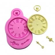 Ρολόι Χειρός 9x6cm - Καλούπι σιλικόνης