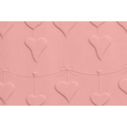 Μικρός ανάγλυφος πλάστης HEART BUNTING 16.5 x1.2εκ - FMM
