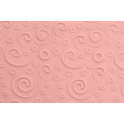 Μικρός ανάγλυφος πλάστης RETRO SWIRL 16.5 x1.2εκ - FMM