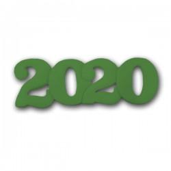 2020 Διακοσμητικά Ζαχαρόπαστας 11x4εκ. - Πράσινο 5Τεμ. & 100Τεμ.
