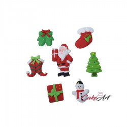 Χριστουγεννιάτικο Διακοσμητικό  Ζύμης  7 Σχέδια