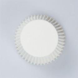 Θήκες Cupcakes Λευκές Απλές 5εκ. - 54τεμ.