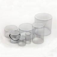 Κουτί PVC Gelatin Στρογγυλό Δ13xY20εκ. κατάλληλο και για Αυγό Πασχαλινό 180-240γρ.