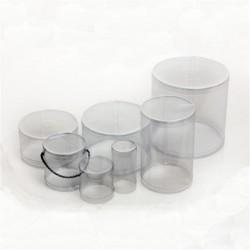 Κουτί PVC Gelatin Στρογγυλό Δ15xY20 - κατ/λο και για Αυγό Πασχαλινό 240γρ.