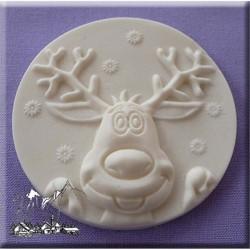 Καλούπι Ζαχαρόπαστας Τάρανδος Αι Βασίλη της Alphabet Moulds (Reindeer)