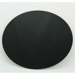 Δίσκος στρογγυλός Μαύρος-Λευκός με γκρι ράχη - Πάχος 1,5χιλ. Διαμ.30,5εκ. (1τεμ.)