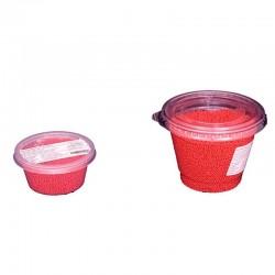 Κας - Κας Κόκκινο γυαλισμένο  2-3χιλ. 80 γρ.