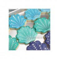 Μεταλλικό Κουπάτ Μίνι για cupcake Κοχύλι - Αχιβάδα