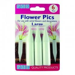 Στηρίγματα Λουλουδιών Μεγάλα Πακ.6