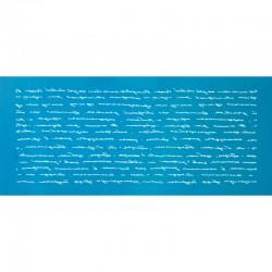 Μυστικό γράμμα - Μεγάλο Δικτυωτό Στένσιλ