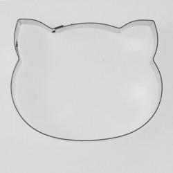 INOX Κουπάτ Γατούλα - Κεφάλι - 4,5 x 3,5 εκ.