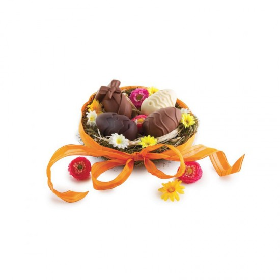 Καλούπι σιλικόνης  6 αυγών για σοκολάτενια αυγά, πάστες και Cake