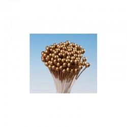 Χρυσοί μικροί περλέ Στήμονες για βρώσιμα λουλούδια 288τεμ.