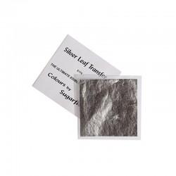 Βρώσιμο Φύλλο Ασημιού  8,25x8,25 της Sugarflair