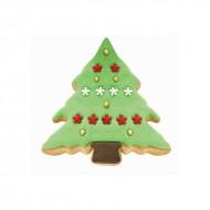 Χιονισμένο Δέντρο σετ 2 μεταλλικών κουπάτ για μπισκότα της PME