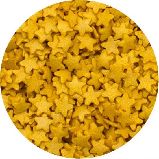 Μίνι Χρυσά Αστεράκια 1Kg. 8χιλ