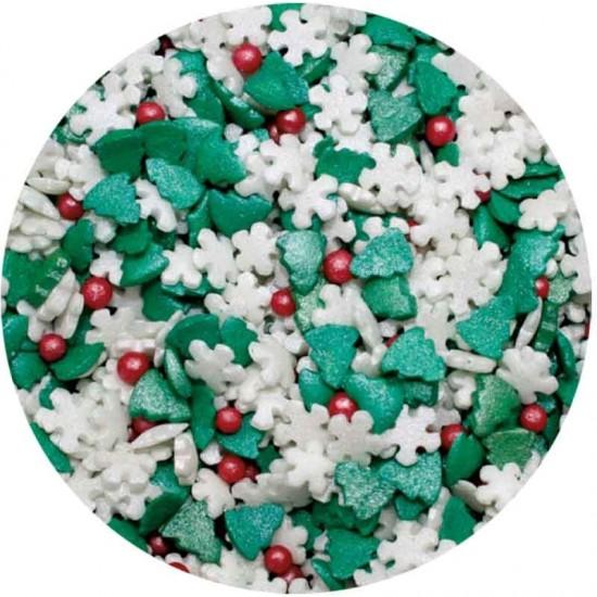 Χριστουγεννιάτικο Sprinkle Mix 1Kg.