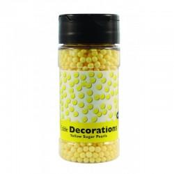 Πέρλες Ζαχαρένιες Κίτρινες 113,4γρ της PME