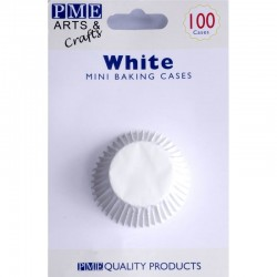 PME Μίνι Λευκές Θήκες για ψήσιμο Cupcakes - 100Τεμ.